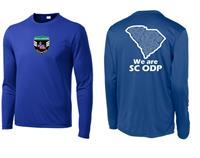 ODP, We are ODP Long Sleeve shirt- royal