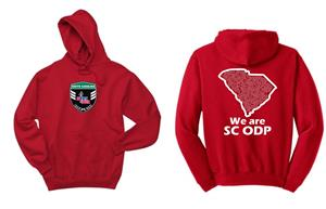 ODP, We are ODP Hoodie- red Image