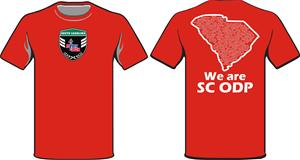 ODP, We are ODP shirt- red Image