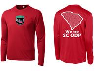 ODP, We are ODP Long Sleeve shirt- red