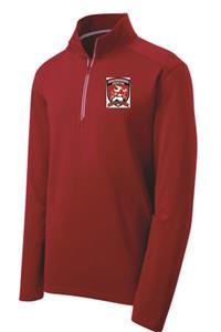 WSC 1/4 Zip Pullover- Red